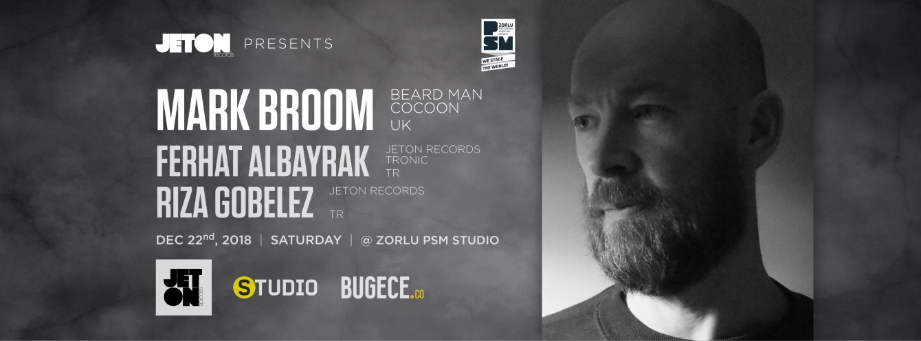 Mark Broom- Techno DJ - Istanbul Turkey Dec 22 2018