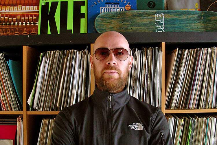 Mark Broom Techno DJ Edinburgh